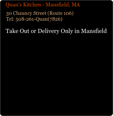 Quans Kitchen Fine Asian and Sushi Locations